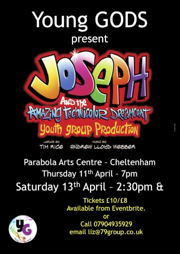 Gloucester Operatics and Drama Society youth group presents Joseph