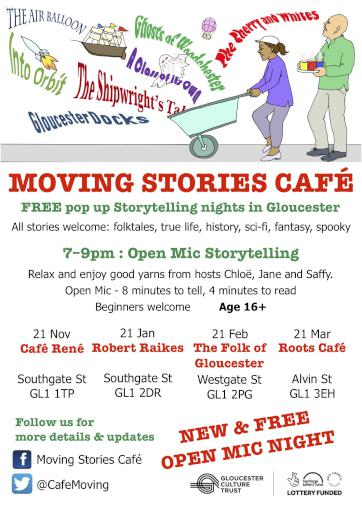 Gloucester Moving Story Cafe